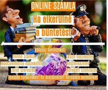 Online számla